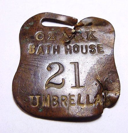 19: OZARK BATH HOUSE MEDAL