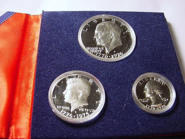 530: 1976 PROOF SILVER BICENTENIAL COIN SET