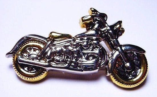 6: VINTAGE MOTORCYCLE PIN / PENDANT