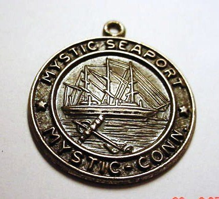 22: MYSTIC, CT SEAPORT STERLING PENDANT
