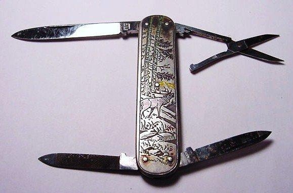 102: VINTAGE HOFFRITZ POCKET KNIFE