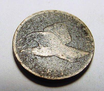 22: 1857 FLYING EAGLE CENT