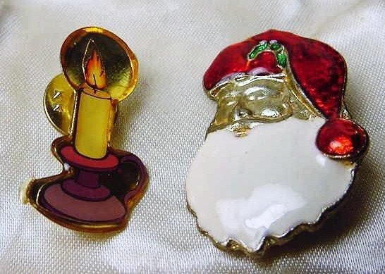 13: [2] CHRISTMAS PINS