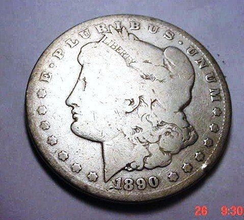 2: 1890-CC MORGAN DOLLAR