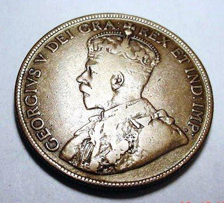 9: 1919 NEWFOUNDLAND 50 CENTS