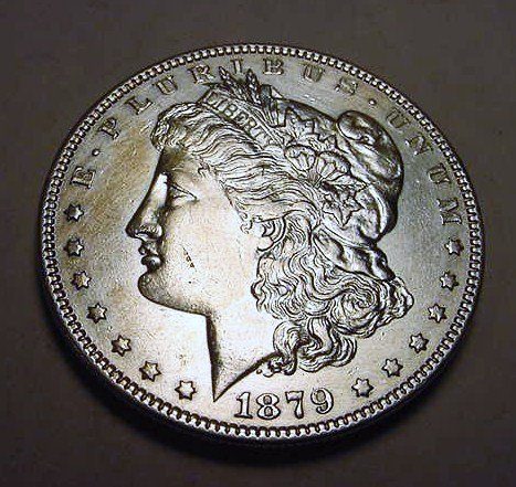 1: 1879 MORGAN DOLLAR