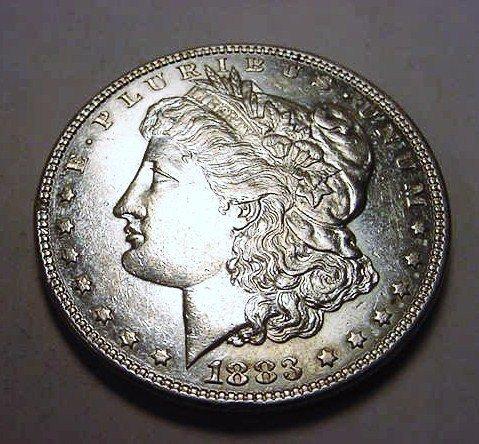 4: 1883 MORGAN DOLLAR
