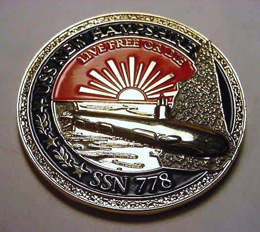 23: 2008 USS NEW HAMPSHIRE SSN 778 ALPHA SEA TRIALS MED