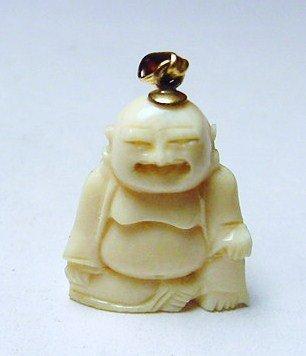 Carved ivory buddha pendant 35 carved ivory buddha pendant mozeypictures Choice Image