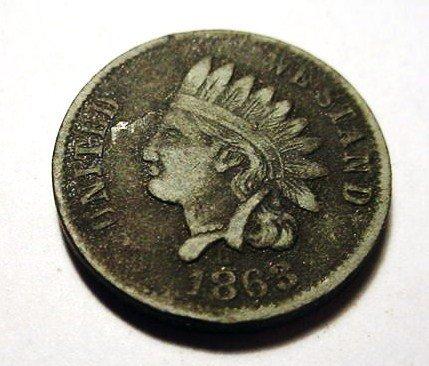 20: 1863 NY LEAD CIVIL WAR TOKEN