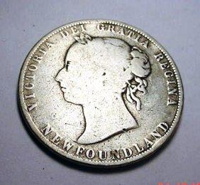 14: 1899 NEWFOUNDLAND 50 CENTS