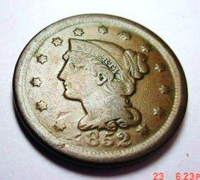 20: 1852 LARGE CENT
