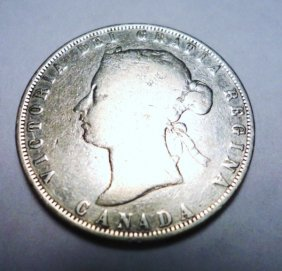 2: 1872 CANADA 50 CENTS