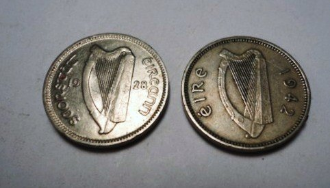 22: IRISH COIN LOT