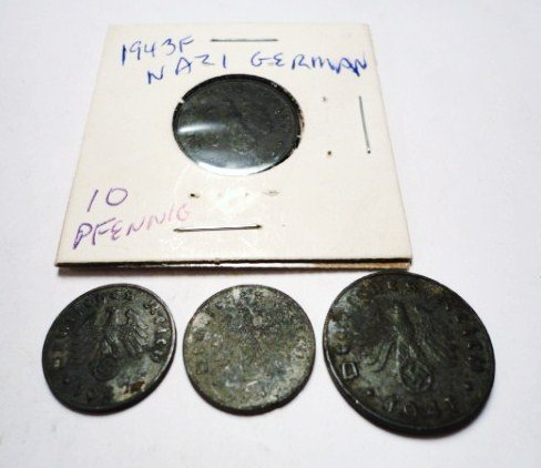 24: NAZI GERMAN COIN LOT
