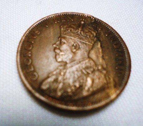 21: 1911 CANADA LARGE CENT LAMINATION ERROR