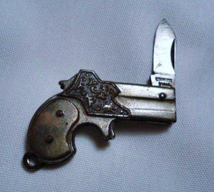 7: VINTAGE JAPAN GUN POCKET KNIFE