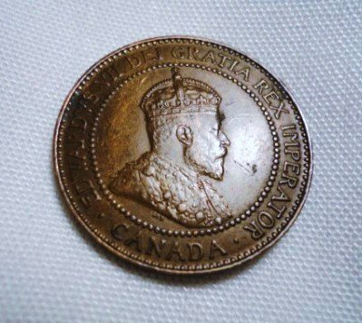 8: 1909 CANADA LARGE CENT