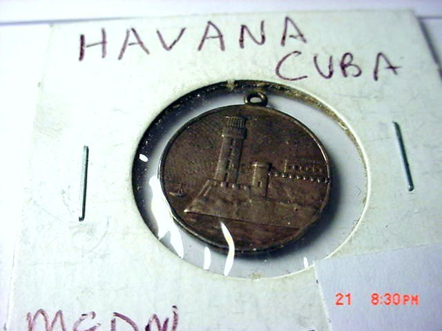 9: HAVANA CUBA MEDAL