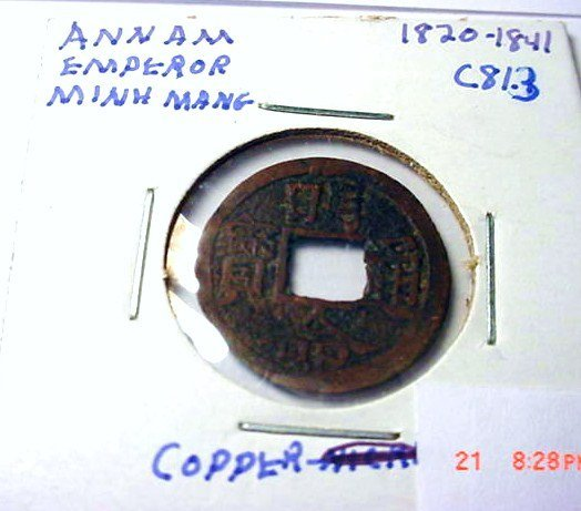 10: 1820-41 MINH MANG ANNAM
