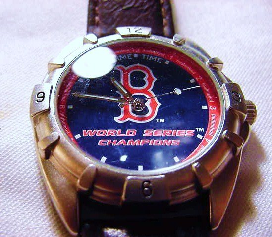 275: 2004 BOSTON RED SOX WORLD CHAMPS WATCH WORKS
