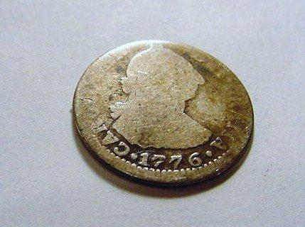14: 1776 BOLIVIA 1 REAL