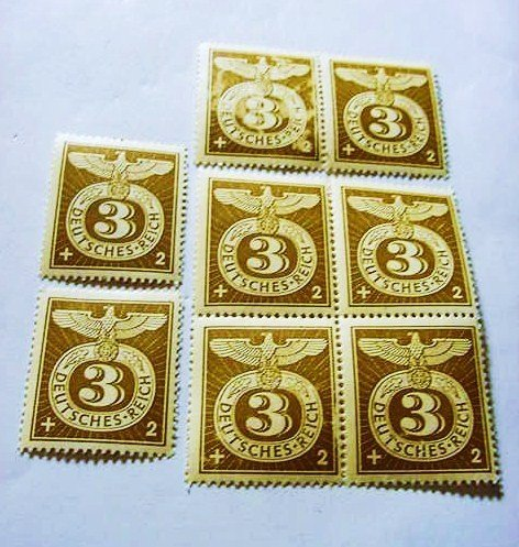 15: [8] NAZI GERMAN STAMPS