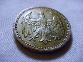 108: 1924 GERMANY 3 MARK SILVER COIN