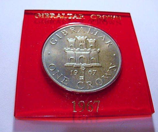 1967 GIBRALTAR CROWN GEM B.U.