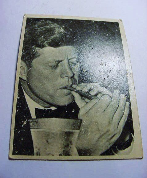 PRESIDENT KENNEDY CARD