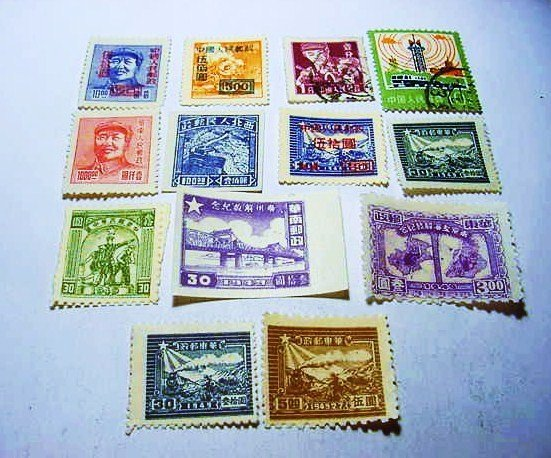 CHINESE STAMP LOT
