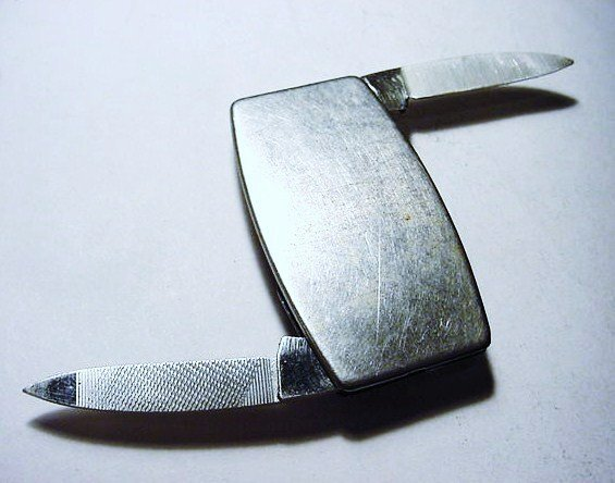 ZIPPO MONEY CLIP KNIFE