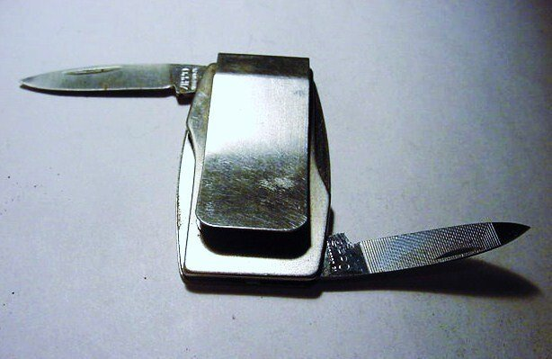 ZIPPO MONEY CLIP KNIFE - 2