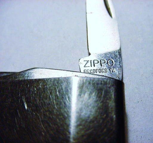 ZIPPO MONEY CLIP KNIFE - 3