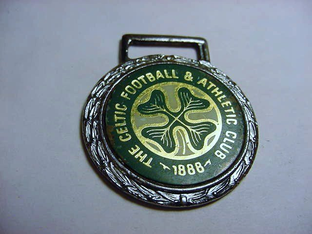 CELTIC FOOTBALL WATCH FOB