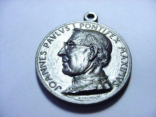 POPE JOHN PAUL I VATICAN MEDAL