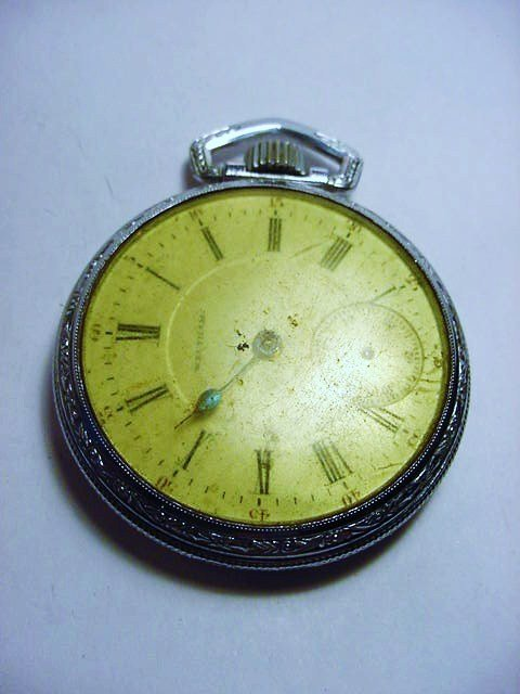 WALTHAM POCKET WATCH NEEDS WORK