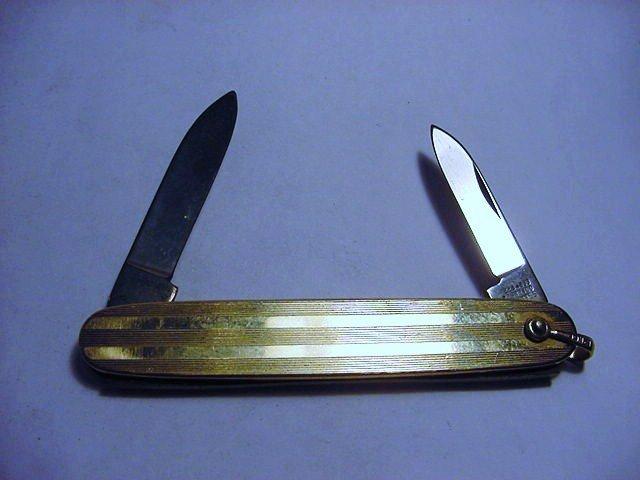 IMPERIAL GOLD FILLED POCKET KNIFE