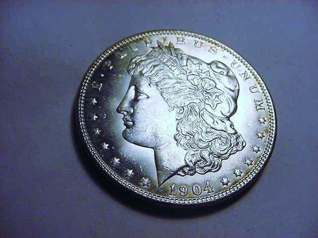 1904-O MORGAN DOLLAR B.U.