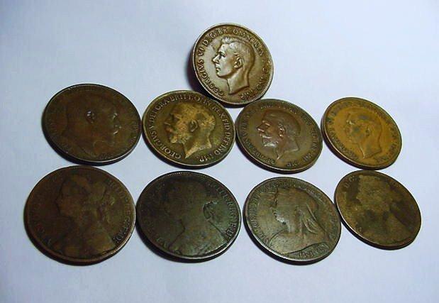BRITISH COIN LOT