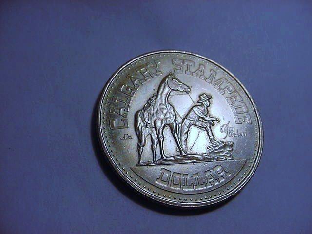 1978 CALGARY STAMPEDE DOLLAR