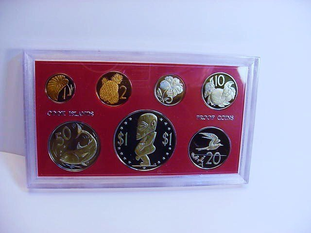 1972 COOK ISLANDS GEM PROOF SET