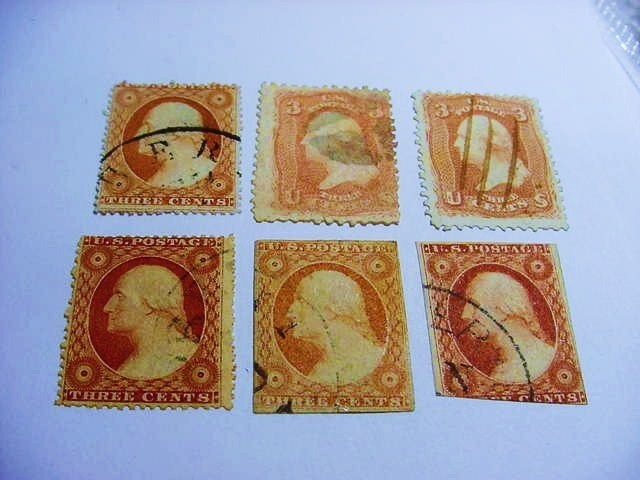 EARLY U.S. STAMP LOT