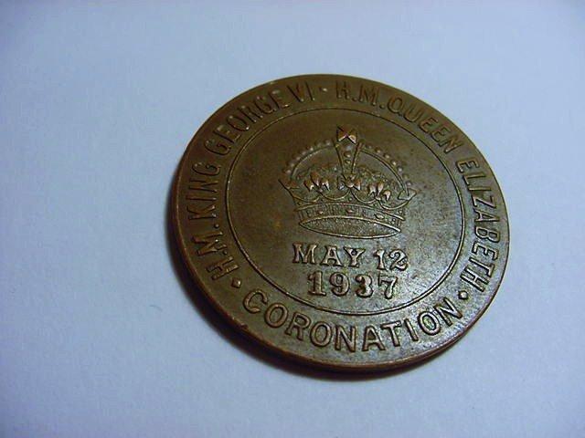 1937 KING GEORGE LIONS CLUB CORONATIUON MEDAL