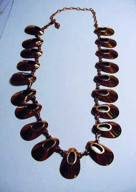 VINTAGE RENIOR COPPER NECKLACE