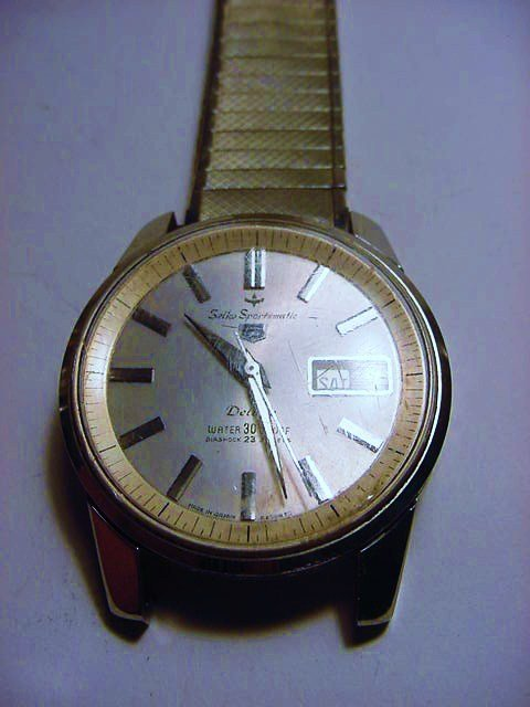 SEIKO SPORTSMATIC 23 JEWEL WRISTWATCH WORKS