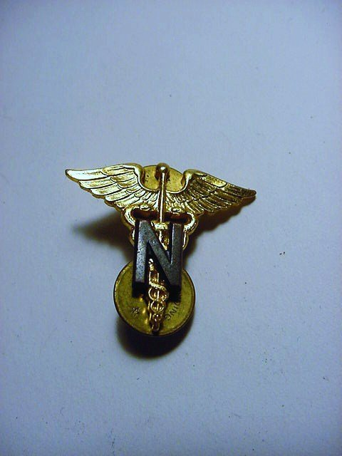 WWII NAVY MEDICAL INSIGNIA