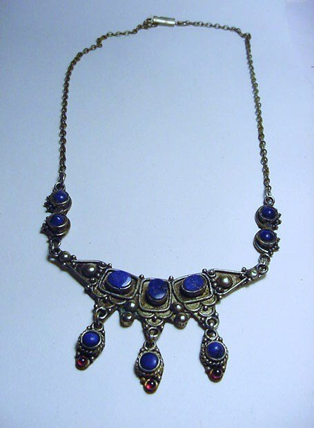 VINTAGE LAPIZ NECKLACE