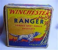 VINTAGE WINCHESTER SHOT GUN SHELLS BOX