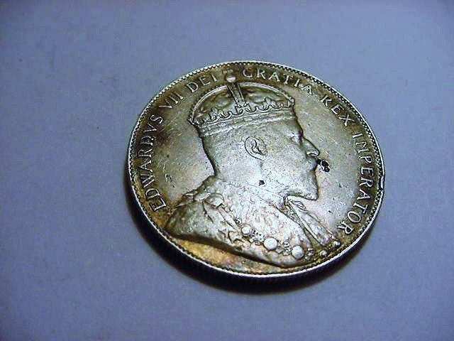 1907 NEWFOUNDLAND 50 CENTS